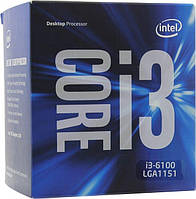 ЦПУ Intel Core i3-6100 2/4 3.7GHz 3M LGA1151 box