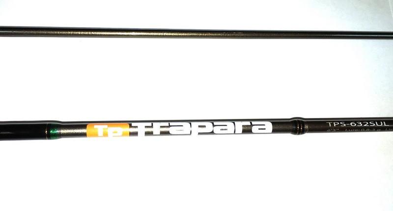 Спиннинг для рыбалки Major Craft Tropara Area, длина 1.91 м, тест 0.8-3г