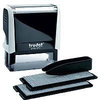 Самонаборный текстовый штамп Trodat (4913N/5/U) 5-х строчный+касса 6003, 6004