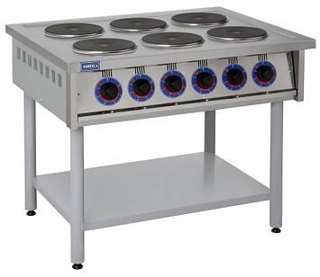 Электрическая профессиональная плита ПЕ-6КР, фото 2