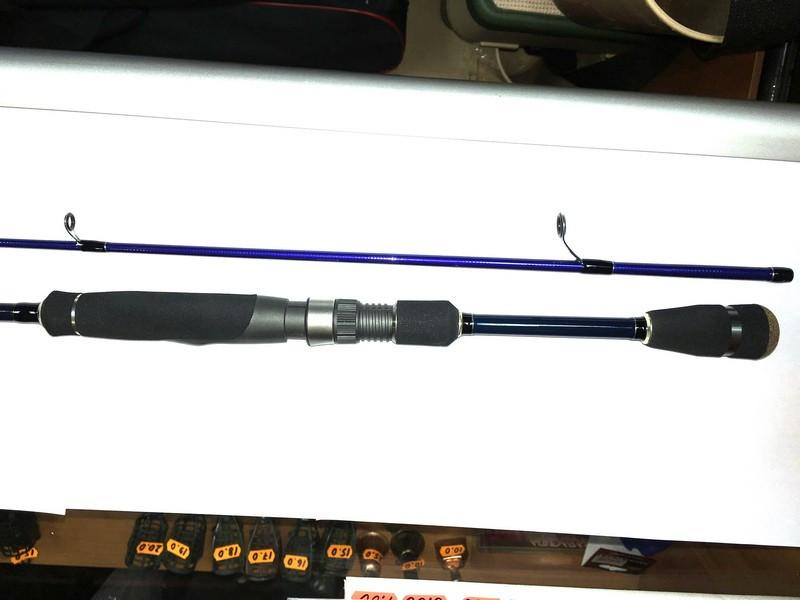 Рыболовный спиннинг Major Craft Solpara, длина 2,29 м, тест 0,5-5г