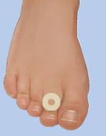 Войлочные кольца круглые на клеевой основе при мозолях, толщина 2 мм,размеры в ассортименте