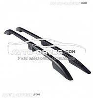 Рейлинги на крышу для Hyundai H-1 2008+  (Crown чёрные, турецкие)