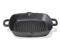 Чугунная сковорода - гриль 26 см Fissman (CI-4097.26)