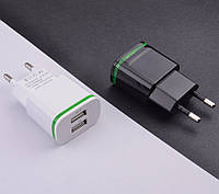Зарядное устройство CinkeyPro 2 USB 2A с LED подсветкой, фото 1