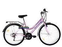 Городской велосипед Mustang Sport 26 (красный, розовый)