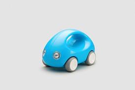 """Игрушка """"Первый Автомобиль"""" для детей от 1 года ТМ Kid O Голубой 10341"""