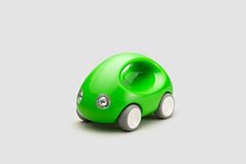 """Игрушка """"Первый Автомобиль"""" для детей от 1 года ТМ Kid O Зеленый 10340"""
