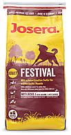 Josera (ЙОЗЕРА) FESTIVAL - корм для привередливых собак, 15кг