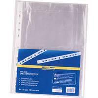 Файлы для бумаг A4+/40 мкм 20 штук в упаковке Buromax JOBFIX (BM.3806)