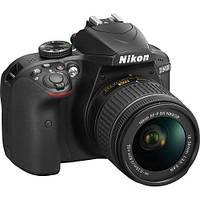 Цифр. фотокамера зеркальная Nikon D3400 + AF-P 18-55VR kit