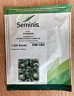 Семена капусты ПАНДИОН F1 (Pandion). Упаковка 2 500 семян. Производитель Seminis.
