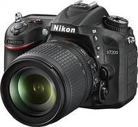 Цифр. фотокамера зеркальная Nikon D7200 + 18-105mm