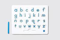 Магнитная доска для изучения английских маленьких прописных букв от А до Z для детей от 3 лет ТМ Kid O 10346