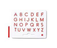 Магнитная доска для изучения больших английских печатных букв от А до Z для детей от 3 лет ТМ Kid O 10342