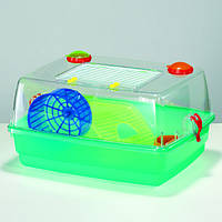 Клетка Fop 20030270 Hamster Junior Deluxe пластиковая укомплектованная 42 см/34 см/22 см, фото 1