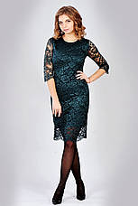 Модне елегантне ошатне плаття гіпюрову, фото 3