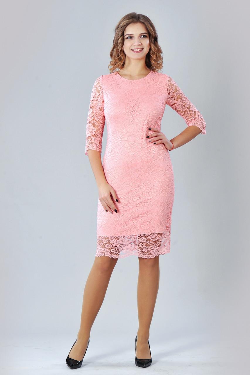 Модне елегантне ошатне плаття гіпюрову