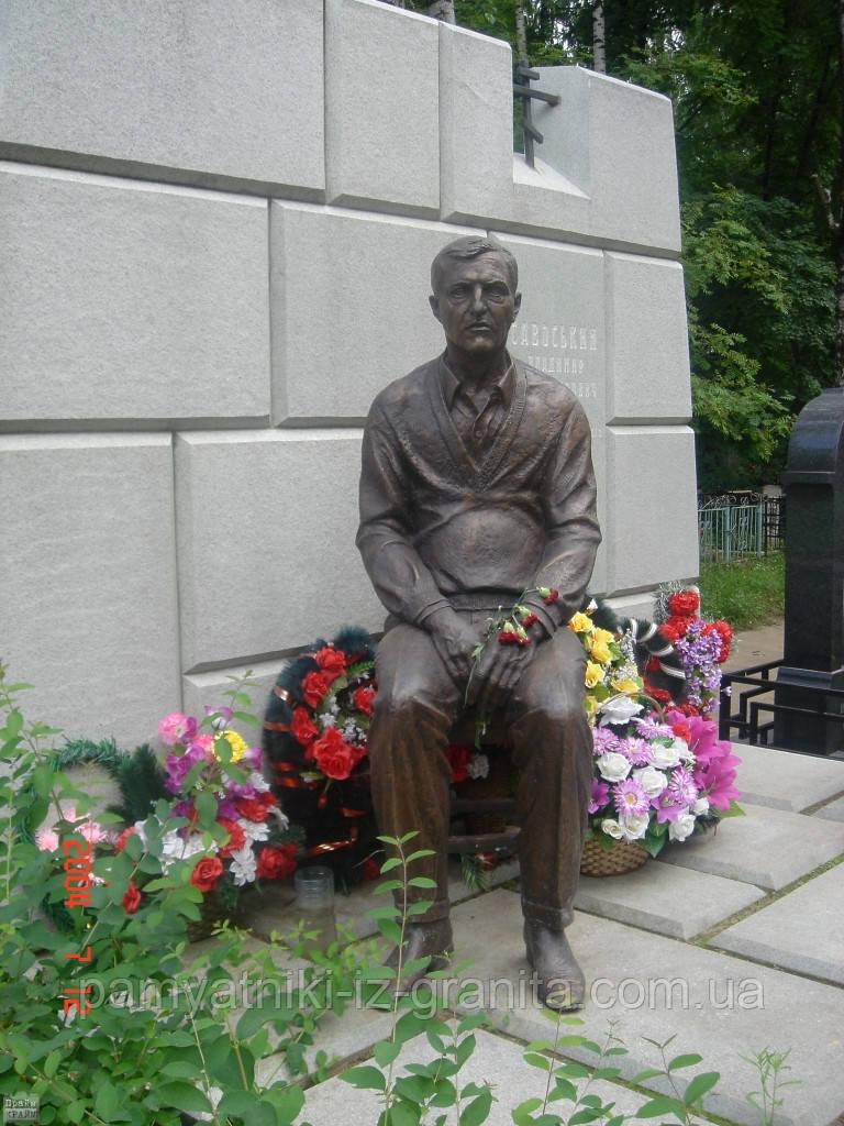 Скульптура из бронзы мужчине № 38