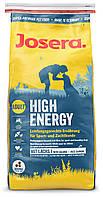 Josera (ЙОЗЕРА) HIGH ENERGY - корм для собак с повышенной активностью, 15кг