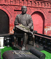 Скульптура из бронзы мужчине № 40