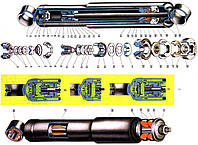 Амортизатор 2121 LSA передний