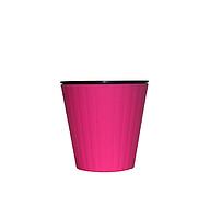 """Вазон """"Ибис"""" с двойным дном V=1л(d=13см h=11,2см) розовый """"Алеана"""""""