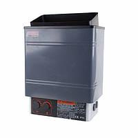 Электрокаменка Amazon AM90MI 9 кВт с выносным пультом CON4 (краш. металл)(9-13 м3, 9 кВт, 380 В)