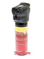 Перцовый газовый баллончик для самообороны Перец-4 LED