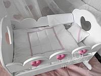"""Постельный комплект в кукольную кроватку """"Baby love"""" и """"Lilу"""", фото 1"""