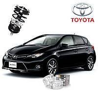 Автобаферы ТТС для Toyota Auris (2 штуки)