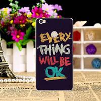 Оригинальный чехол для Xiaomi Mi Max с картинкой Надпись