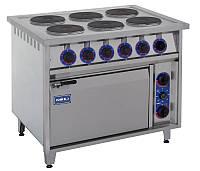 Электрическая плита с духовкой ПЕД-6КР