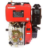 Двигатель WEIMA WM186FB-T (шлиц, вал 25мм)