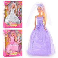 Кукла DEFA невеста в кор. 33х22х6см. 6003