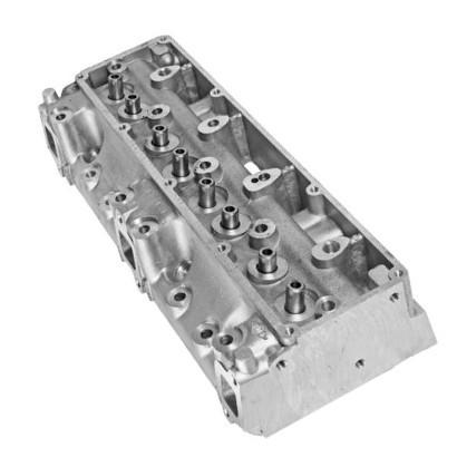 Головка блока цилиндров  ЗИЛ-130, ЗИЛ-131,  ГБЦ двигателя с клапанами