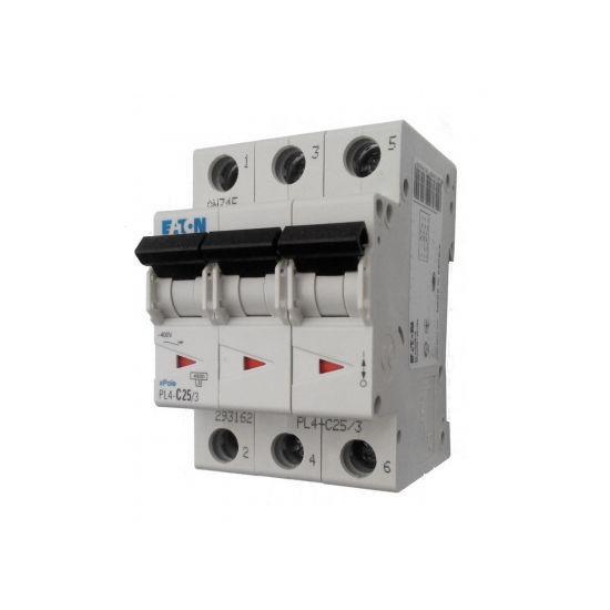 Автоматический выключатель PL4-C10/3 10А 3р х-каC 4,5кА Eaton