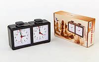 Часы шахматные механические (пластик)