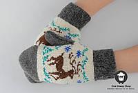 Детские варежки, шерстяные варежки для детей, фото 1