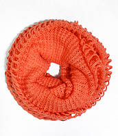 Нежный шарф-трансформер, dress RL309_коралл