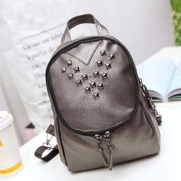 a96e3057c1ac Стильный рюкзак с заклепками SVN030816. Купить в интернет-магазине ...