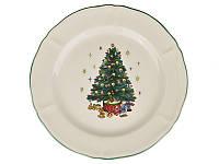 Тарелка Рождественская ёлка