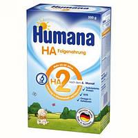 Сухая детская смесь для кормления HUMANA НА 2 Гипоалергенная с пребиотиками галактоолигосахаридами 500 г