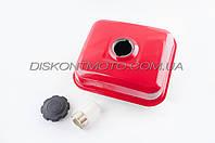 Бак топливный мотоблока 168F/170F (6,5/7Hp) DIGGER (с фильтром и крышкой)