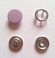 Кнопка 9,5 мм матовая № 18 - сирень