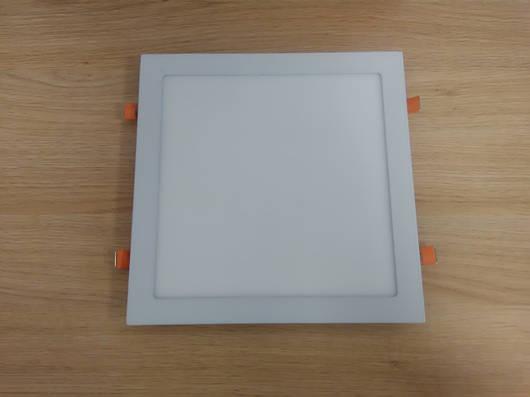 Светильник врезной LED  Downlight  24W  6400K  размер 300*300 мм квадратный алюминиевый корпус