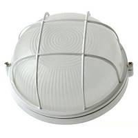 Светильник НПП1102 черный/круг с реш.100Вт IP54  ИЭК