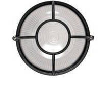 Светильник НПП1104 черный/круг солнце 100Вт IP54  ИЭК