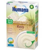 Каша безмолочная Humana органическая Рисовая 6м+ 200г
