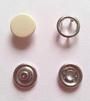 Кнопка 9,5 мм матовая № 306 - молоко